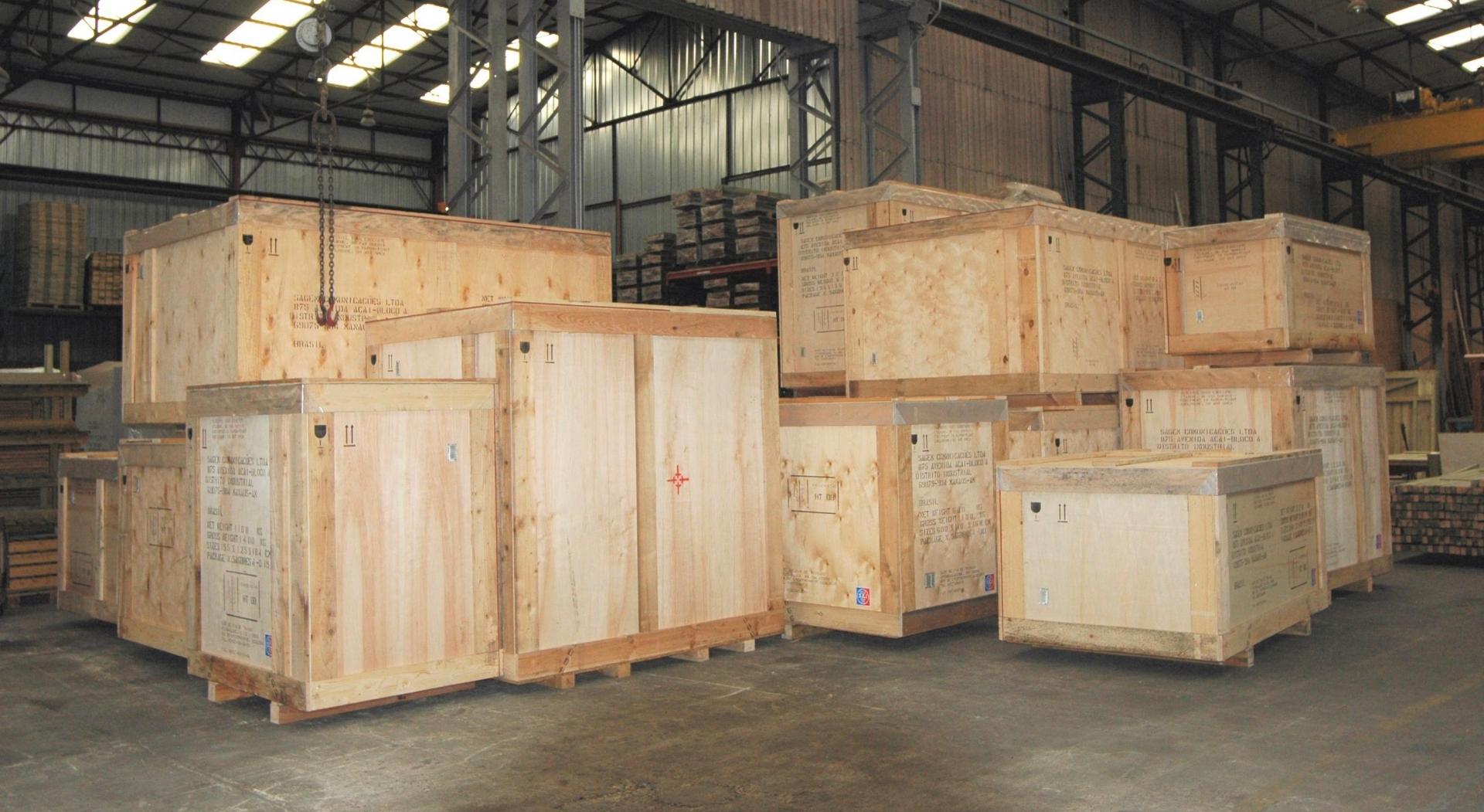 Image gauche - Emballage industriel