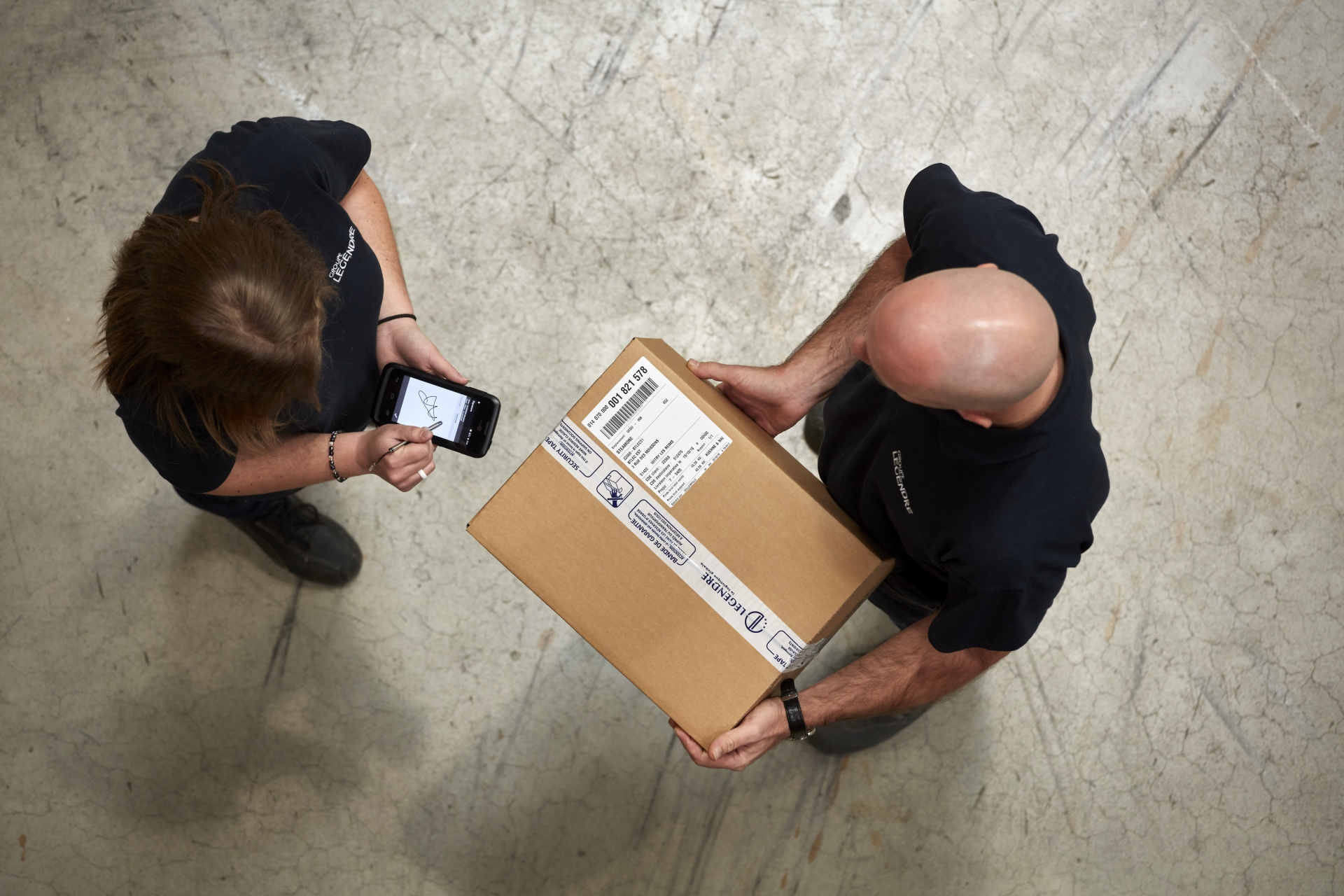 Image gauche - Logistique & stockage